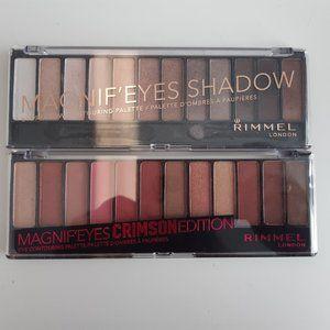 2 Rimmel magnif'eyes eyeshadow palette